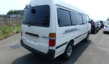 Toyota Hiace Commuter 15 Seater full