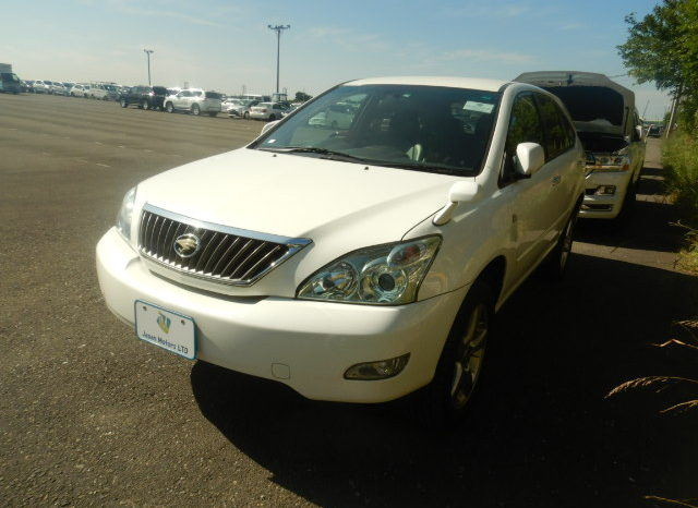Toyota Harrier 2007 full